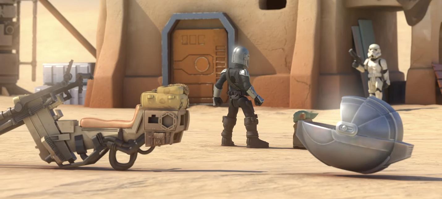 IG-11 приходит на помощь Мандалорцу в коротком ролике от Hasbro
