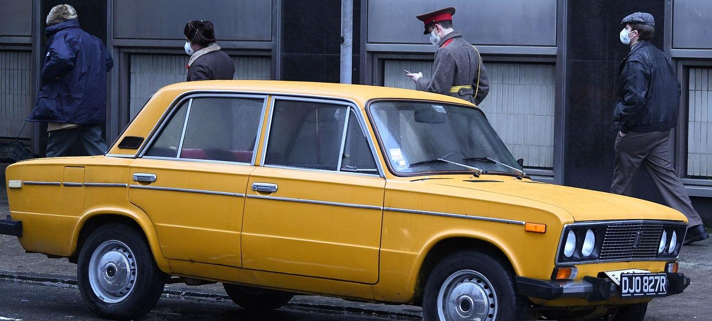СССР, жигули и москвич  первые фото со съемок фильма Тетрис