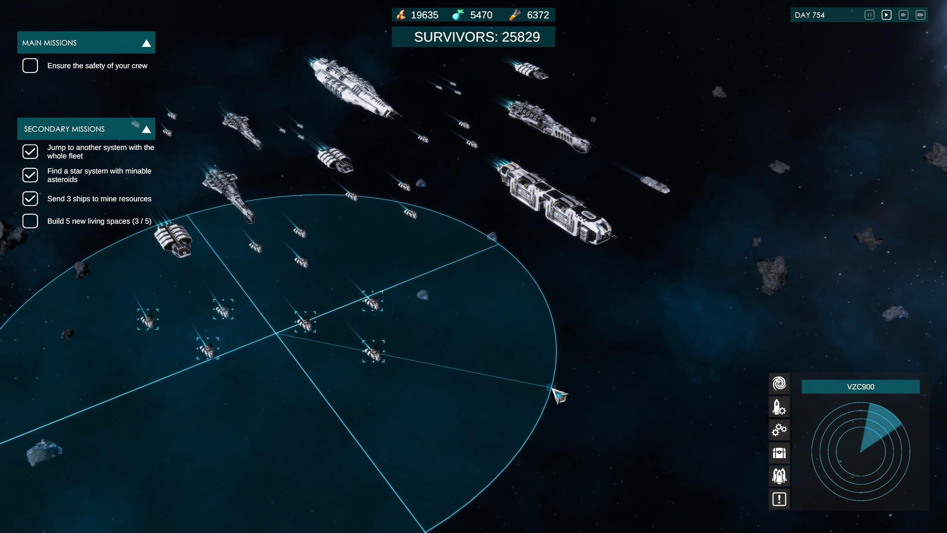 Анонсирована космическая стратегия с элементами выживания Star Exodus