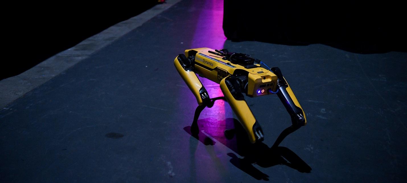 Boston Dynamics показала преимущества робо-пса на предприятиях