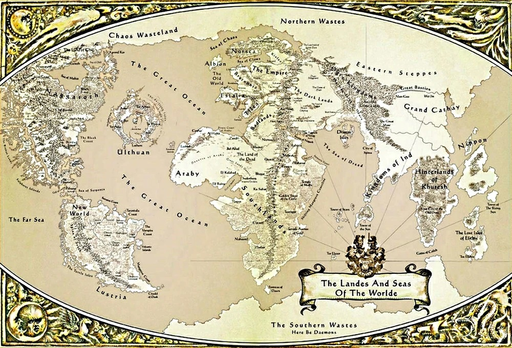 Карта Total War: Warhammer 3 будет в два раза больше, чем в прошлой части