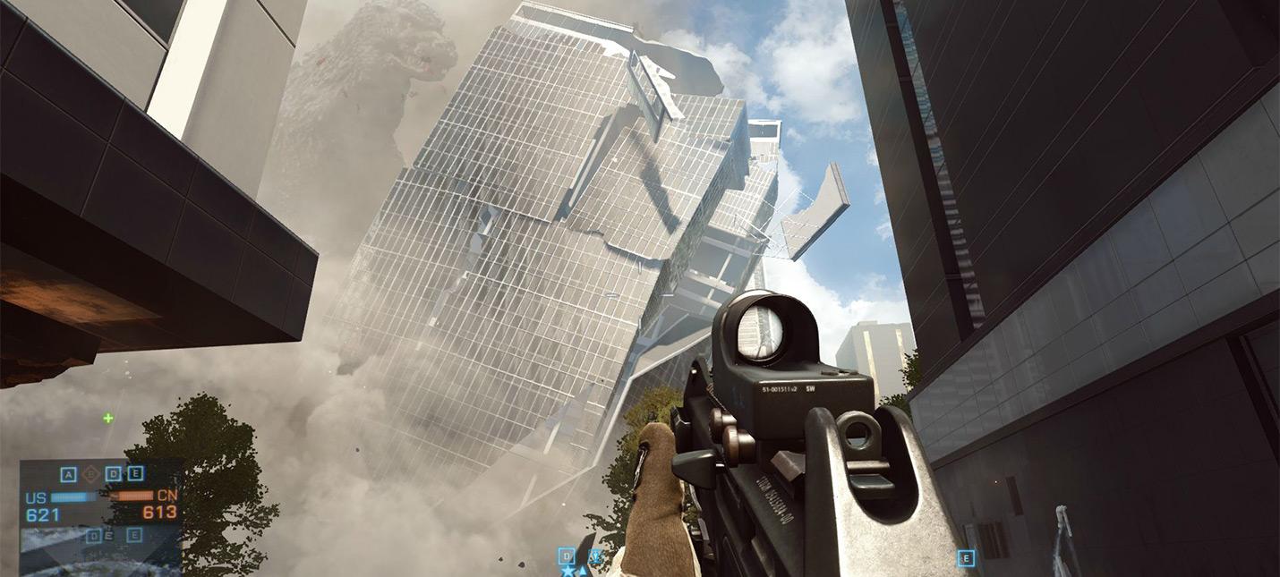 Инсайдер Battlefield 6 может включать незаскриптованные разрушения небоскребов