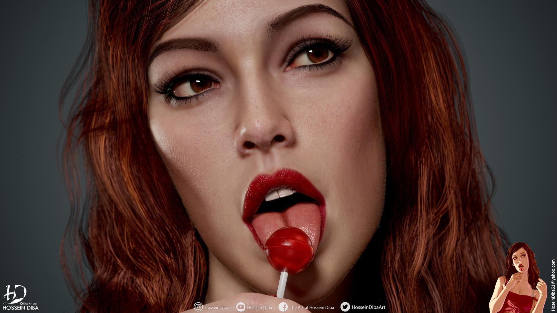 Художник создал 3D-модель девушки с обложки GTA IV