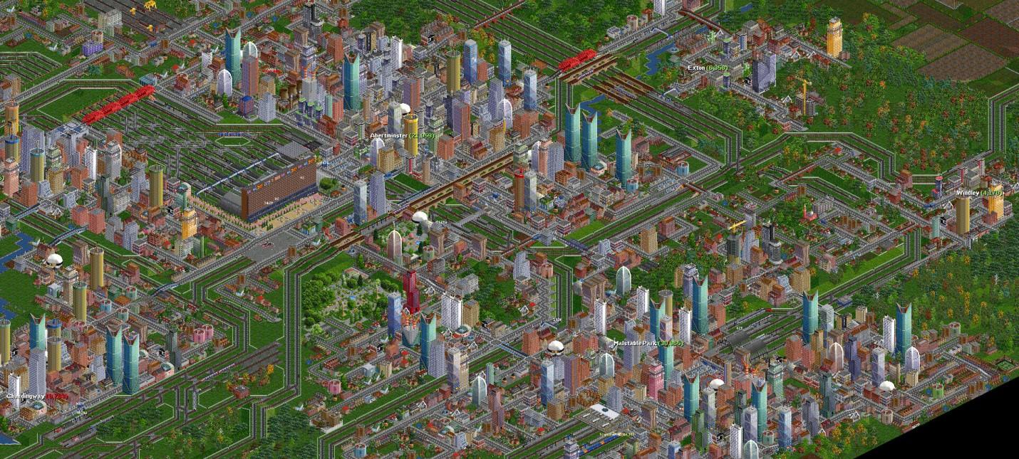 Классическая бесплатная экономическая стратегия OpenTTD выйдет в Steam