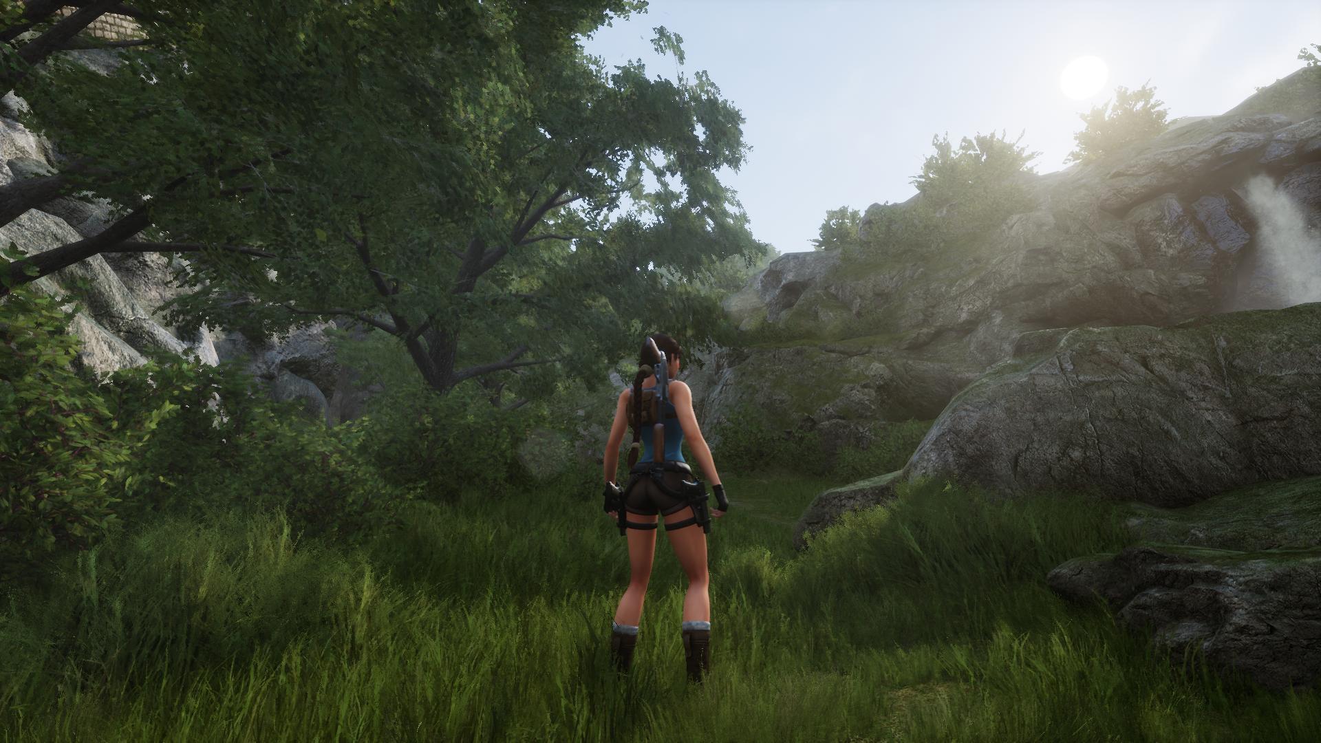В фанатский ремейк Tomb Raider 2 был добавлен фоторежим