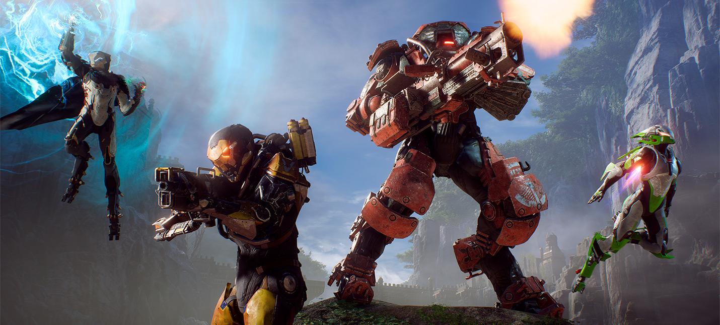 Джейсон Шрайер На этой неделе EA примет решение о будущем Anthem NEXT