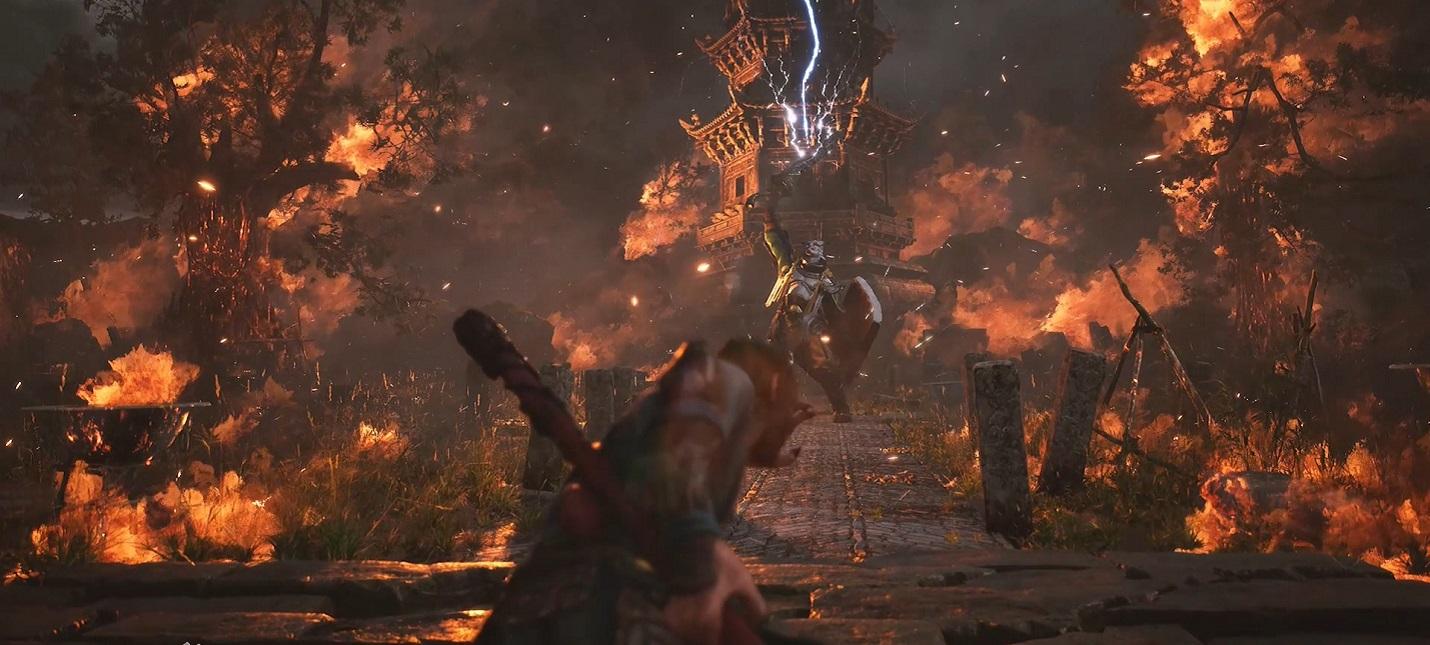 Новый геймплейный трейлер китайской ААА-игры Black Myth Wukong