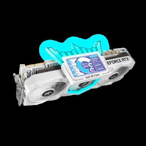 У этой RTX 3090 есть корона и мини-дисплей