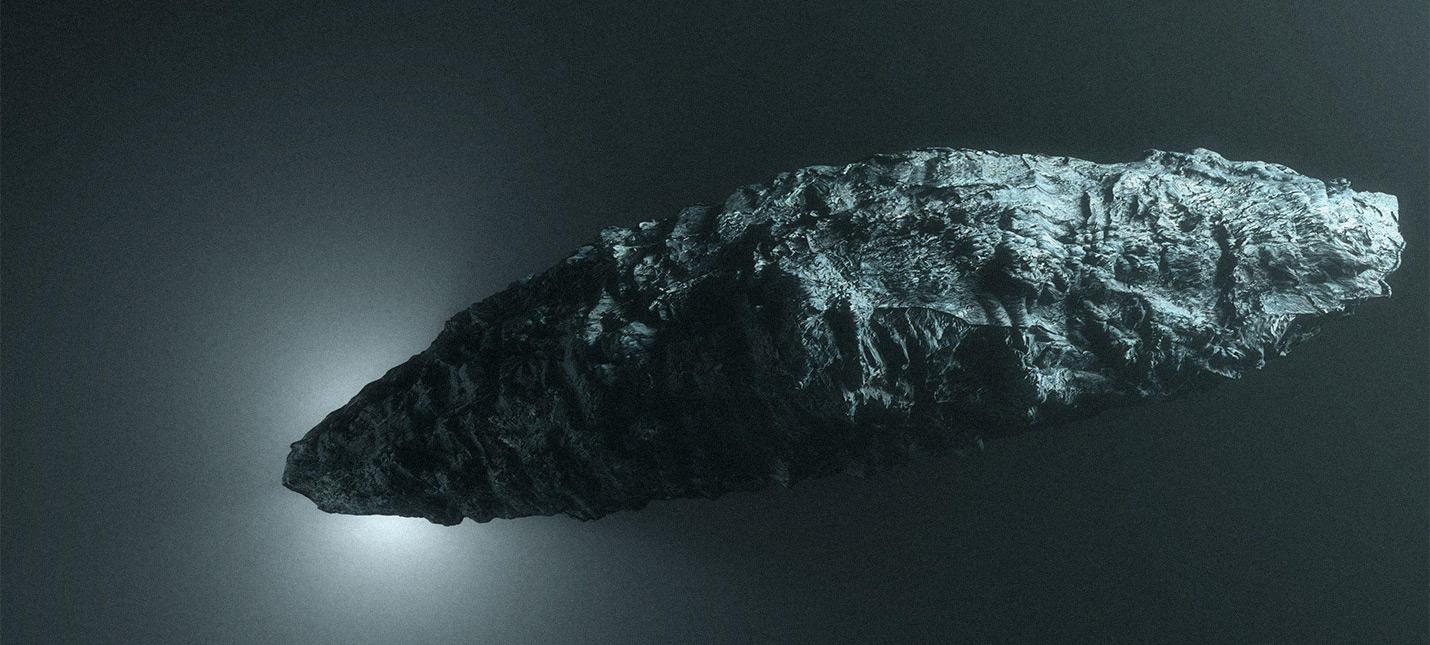 Астроном из Гарварда полагает, что межзвездный объект Oumuamua был космическим буем внеземной цивилизации