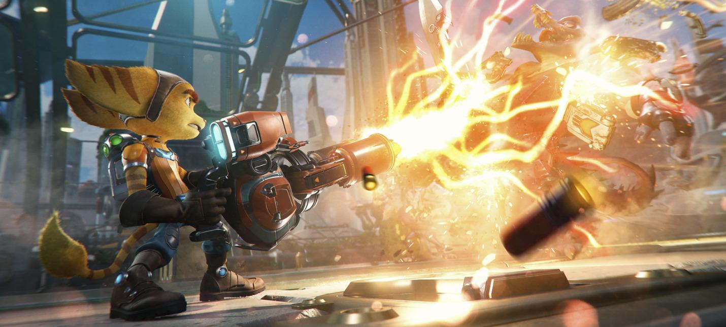 Ratchet amp Clank Rift Apart выйдет 11 июня