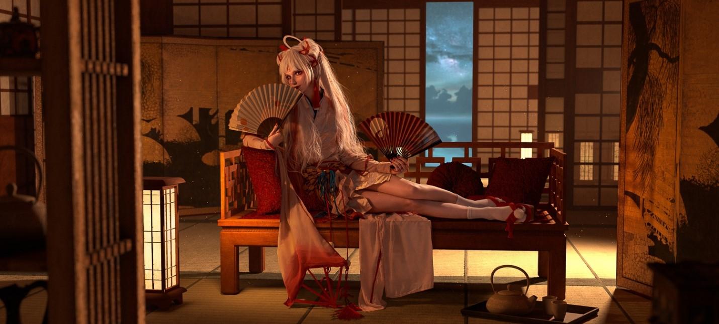 Пятничный косплей Onmyoji, Tomb Raider и Гвинт