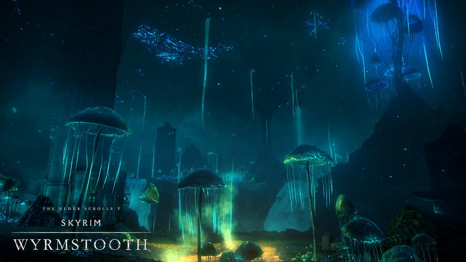 Спустя пять лет огромный мод для Skyrim — Wyrmstooth вновь можно скачать