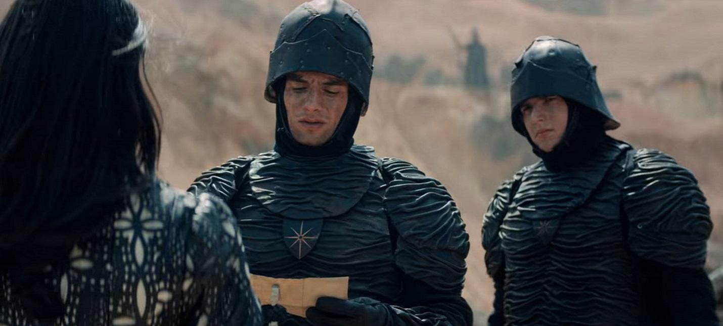 Броня нильфгаардцев на фото со съемок второго сезона Ведьмака