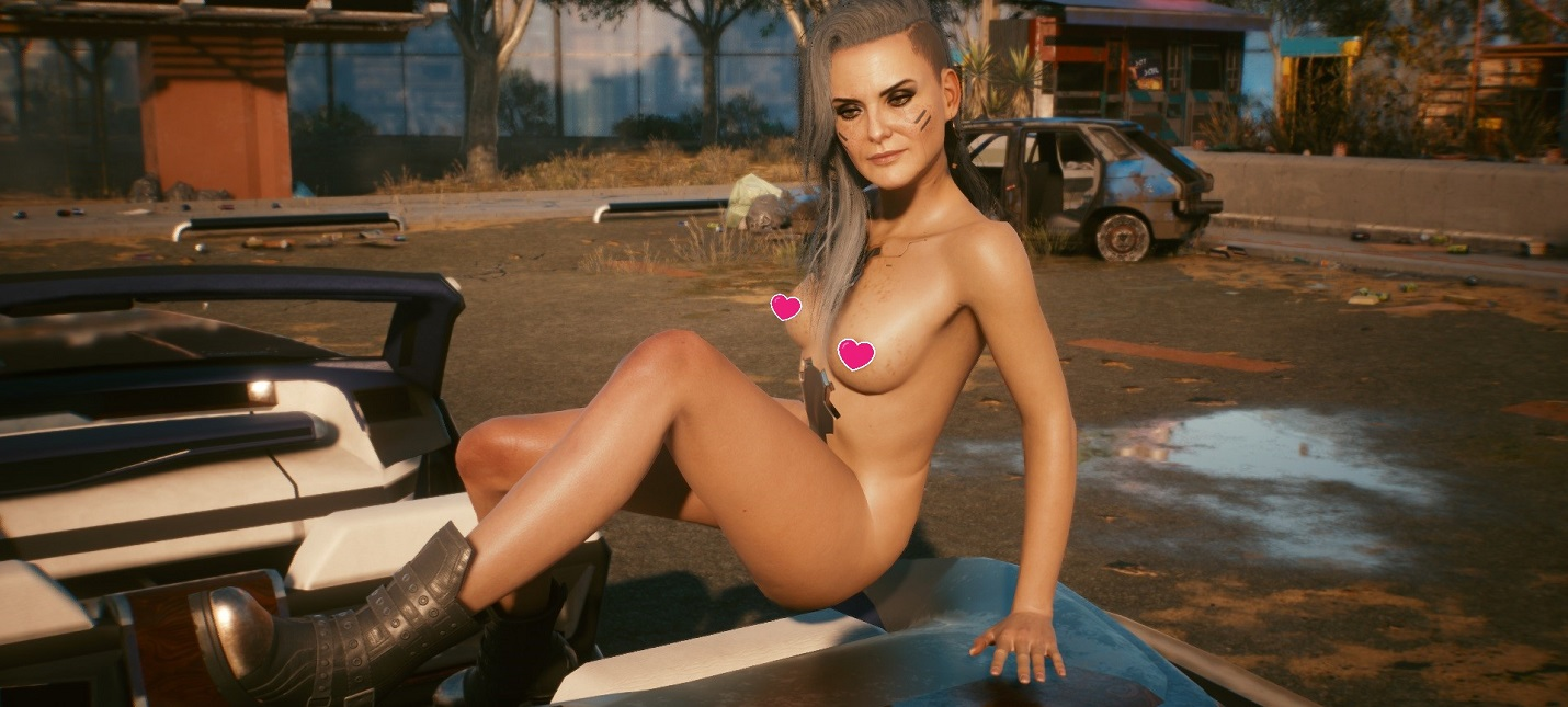 Cyberpunk 2077 получила голые моды для Роуг и Мисти, а также улучшенные текстуры голого тела