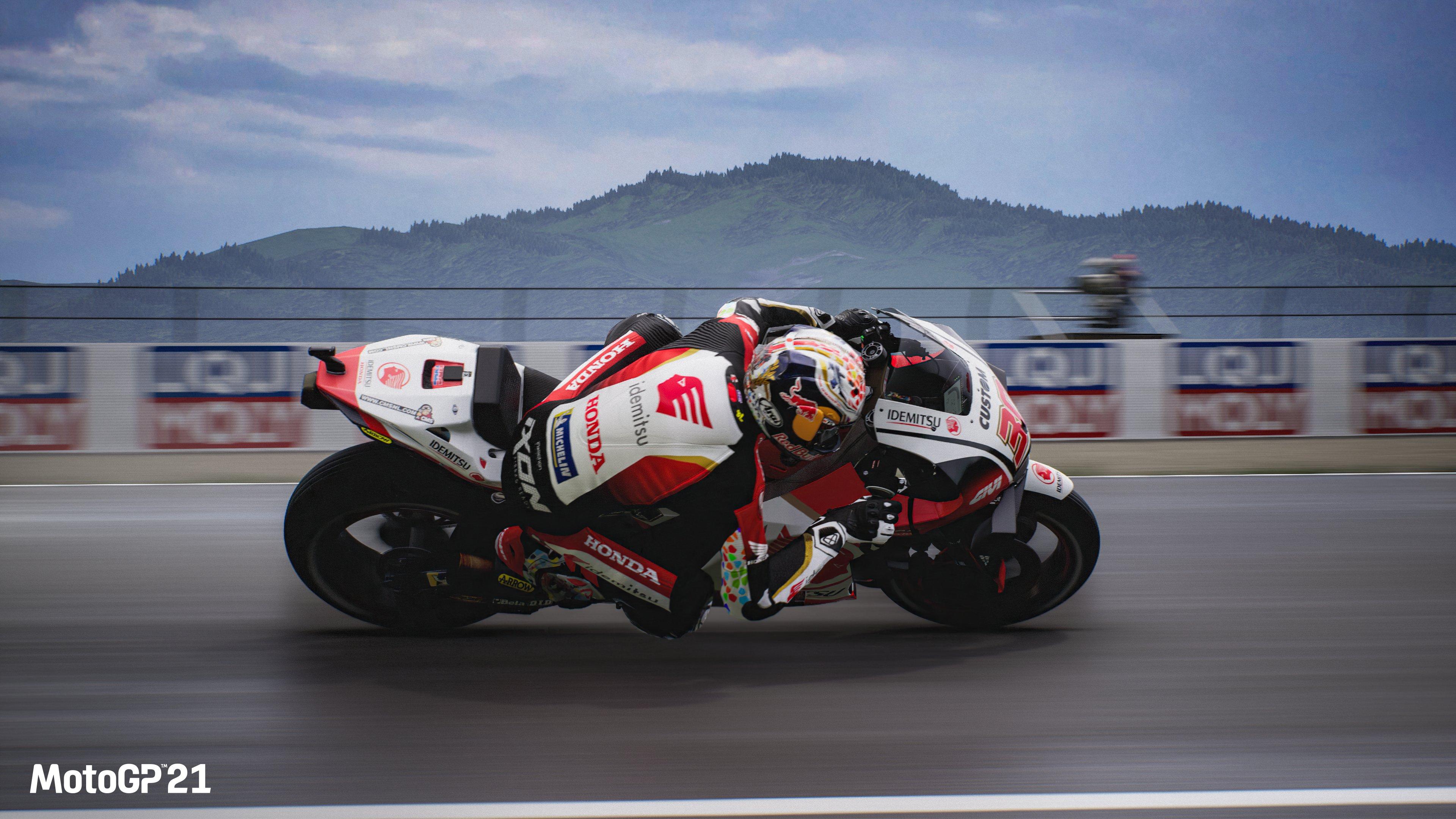 Рейсинг MotoGP 21 выйдет на PC и консолях 22 апреля
