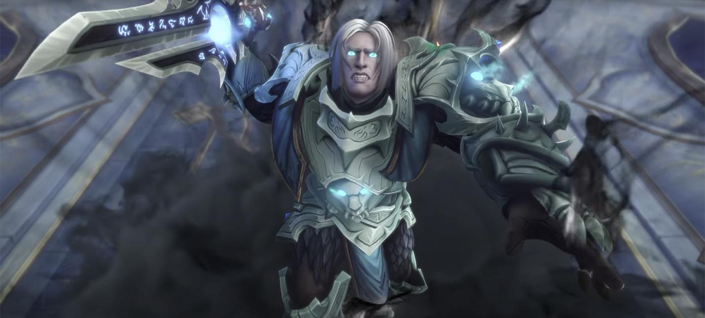 Анонсировано первое дополнение для WoW Shadowlands Chains of Domination
