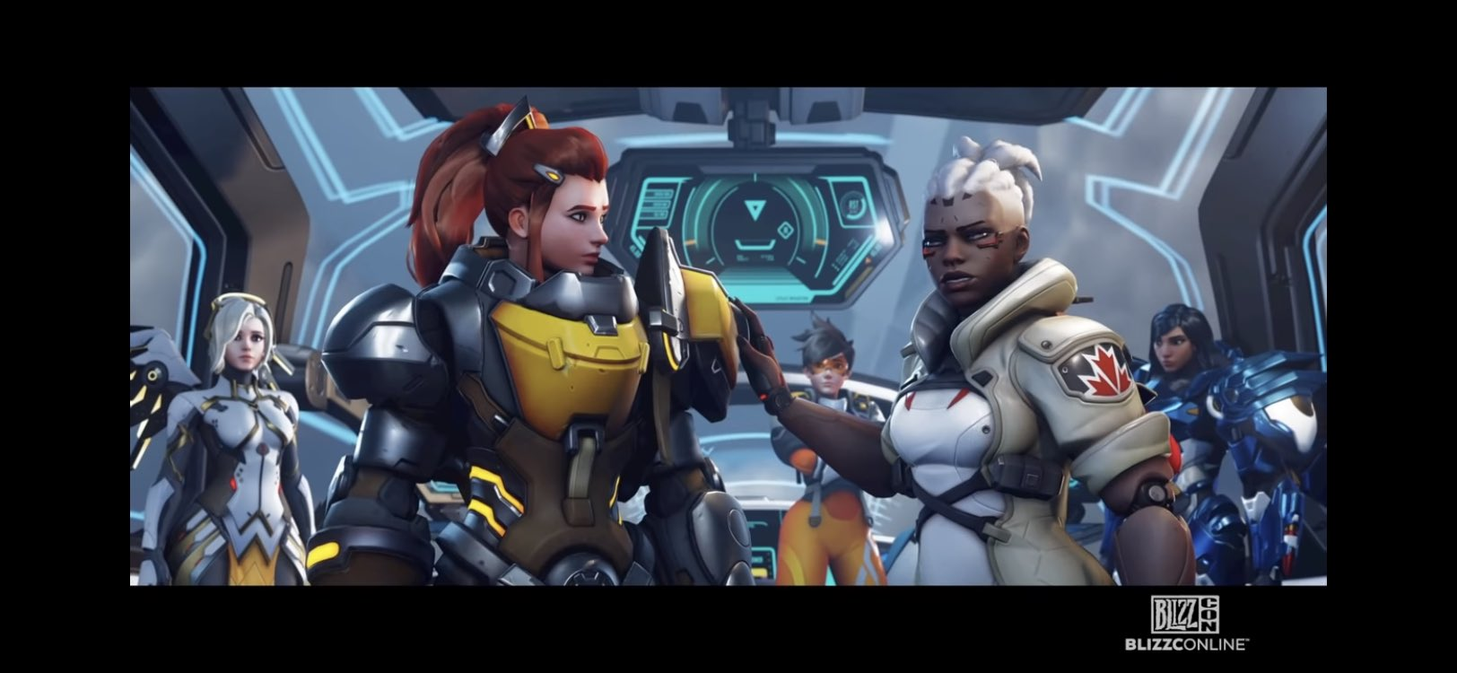 Посмотрите, как работает рельсовая винтовка Соджорн в Overwatch 2