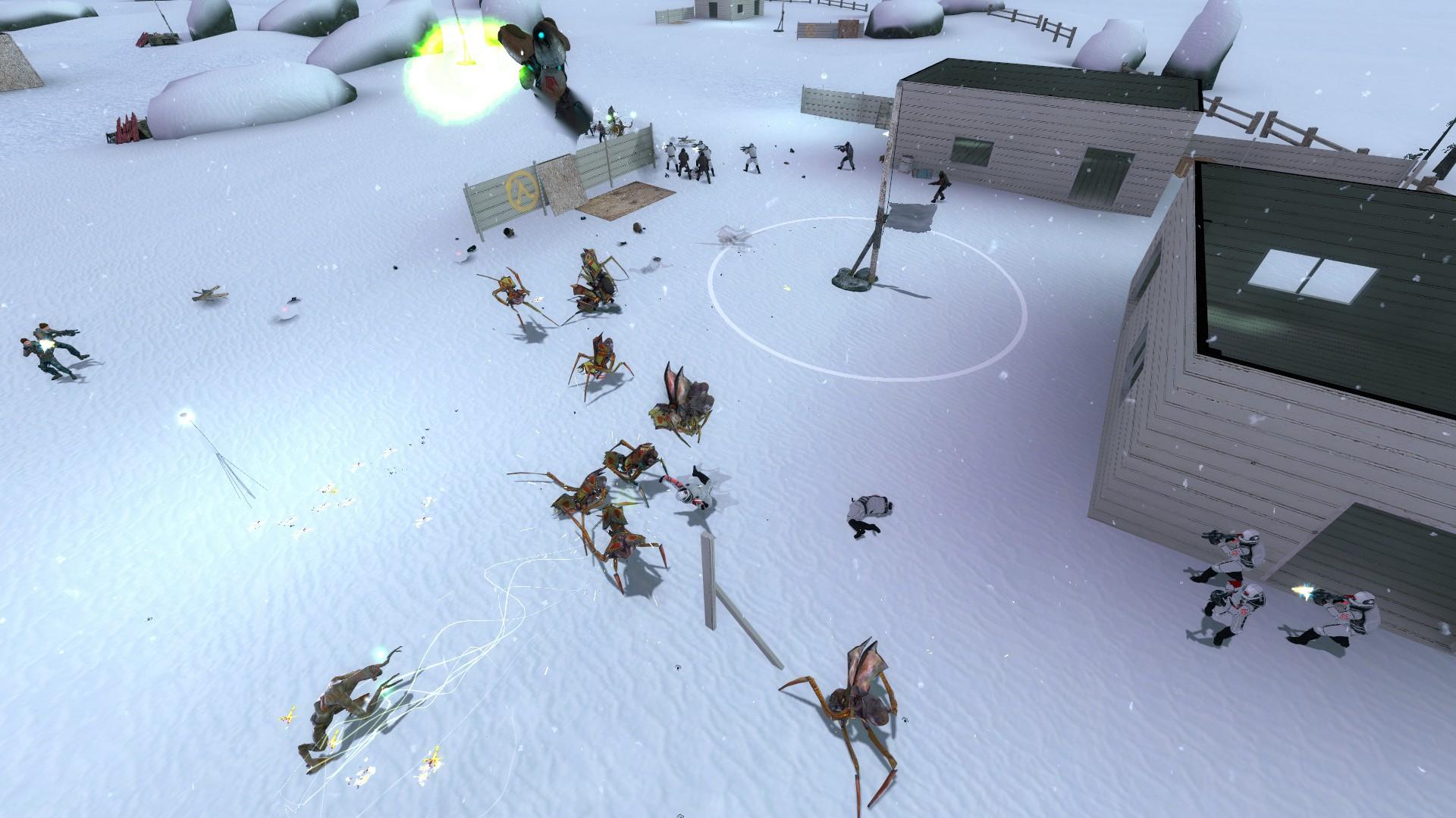 Спустя 13 лет разработки вышла фанатская RTS по Half-Life 2 — Lambda Wars