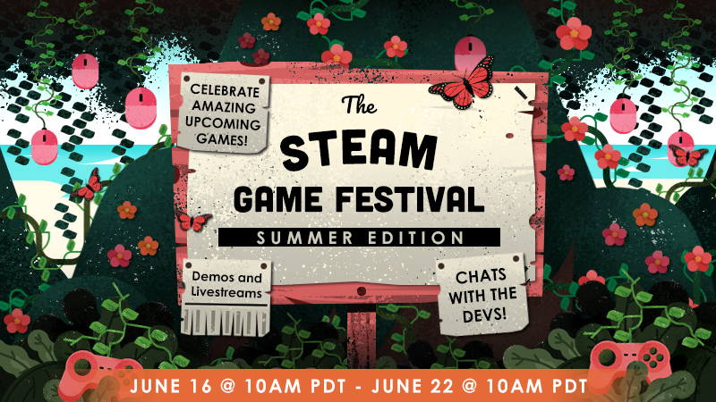 Следующий фестиваль демоверсий Steam пройдет в июне