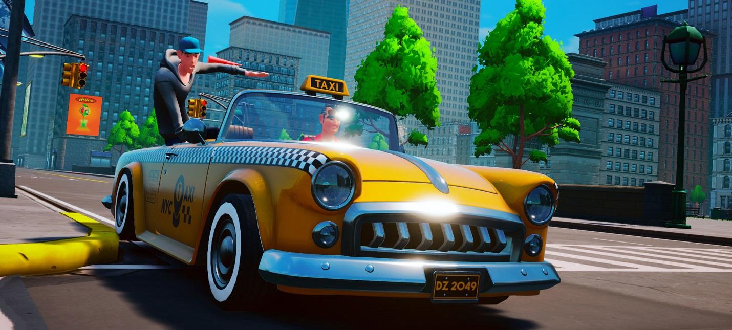Релизный трейлер Taxi Chaos — духовной наследницы Crazy Taxi
