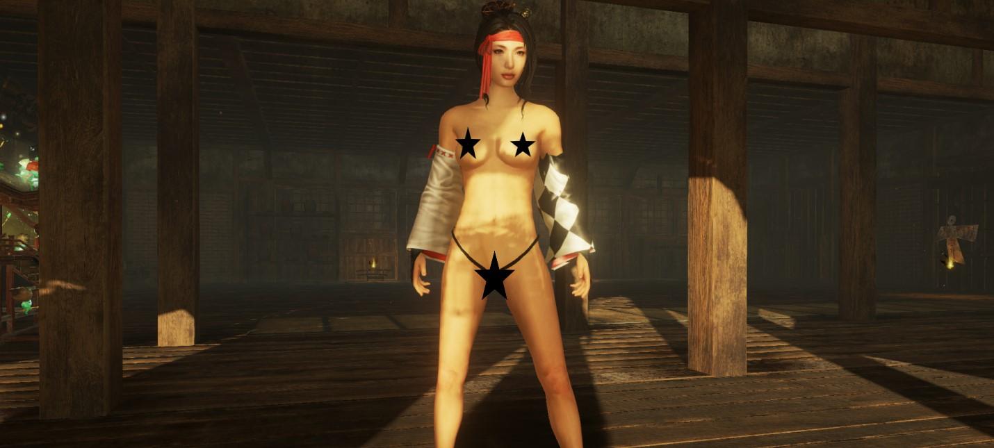 Для Nioh 2 вышло несколько голых модов
