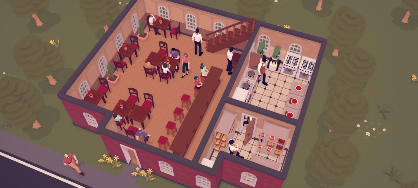 Пицца, крысы и игровые автоматы в релизном трейлере тайкуна TasteMaker про ресторанный бизнес