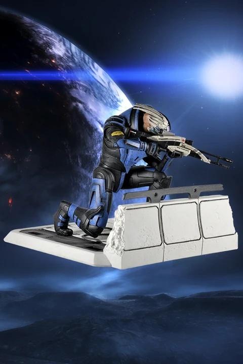 BioWare выпустит лимитированную статуэтку Гарруса из Mass Effect