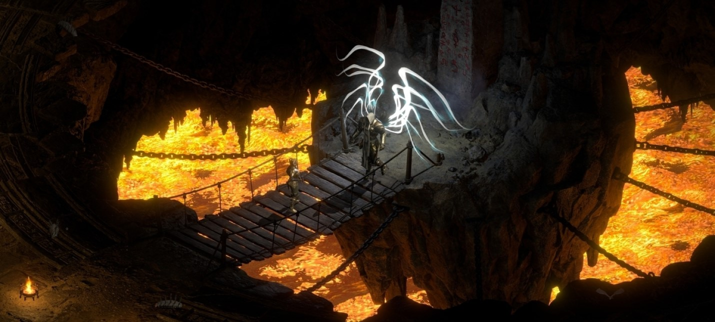 Детальное сравнение графики Diablo 2 Resurrected с оригинальном