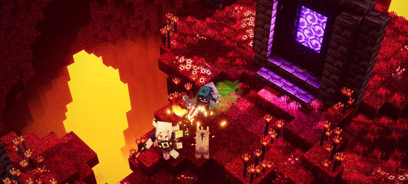 Minecraft Dungeons получила крупнейшее обновление с платным и бесплатным контентом