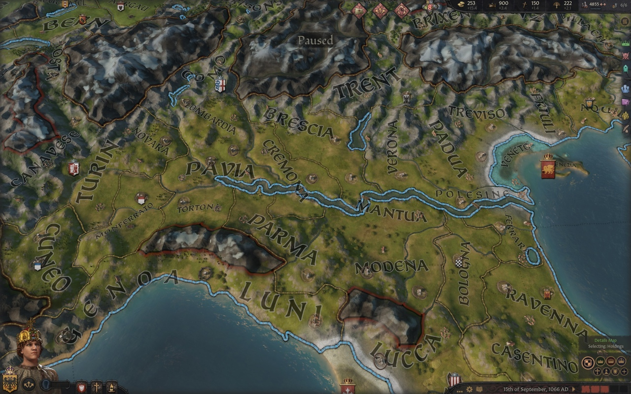 В Crusader Kings 3 добавят зиму и улучшат два региона