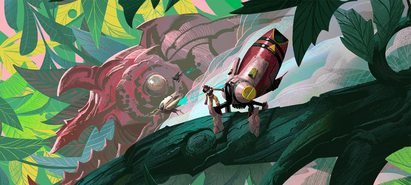 Анонсирована экшен-адвенчура Stonefly  собирайте своего меха и сражайтесь с жуками