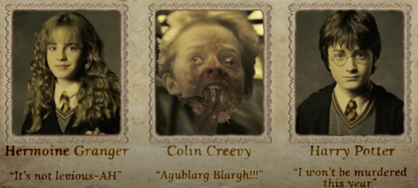 Студия визуальных эффектов превратила Гарри Поттера в кровавое шоу