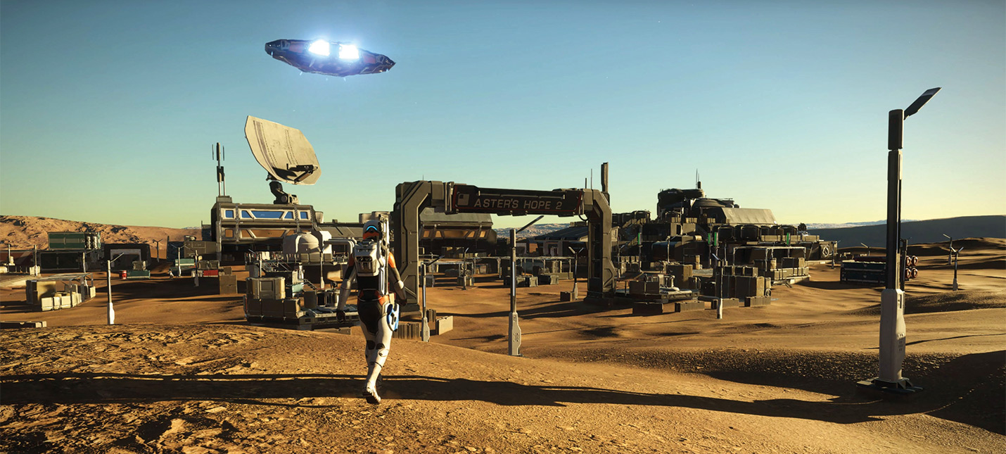 Новый геймплей Elite Dangerous: Odyssey — альфа стартует 29 марта
