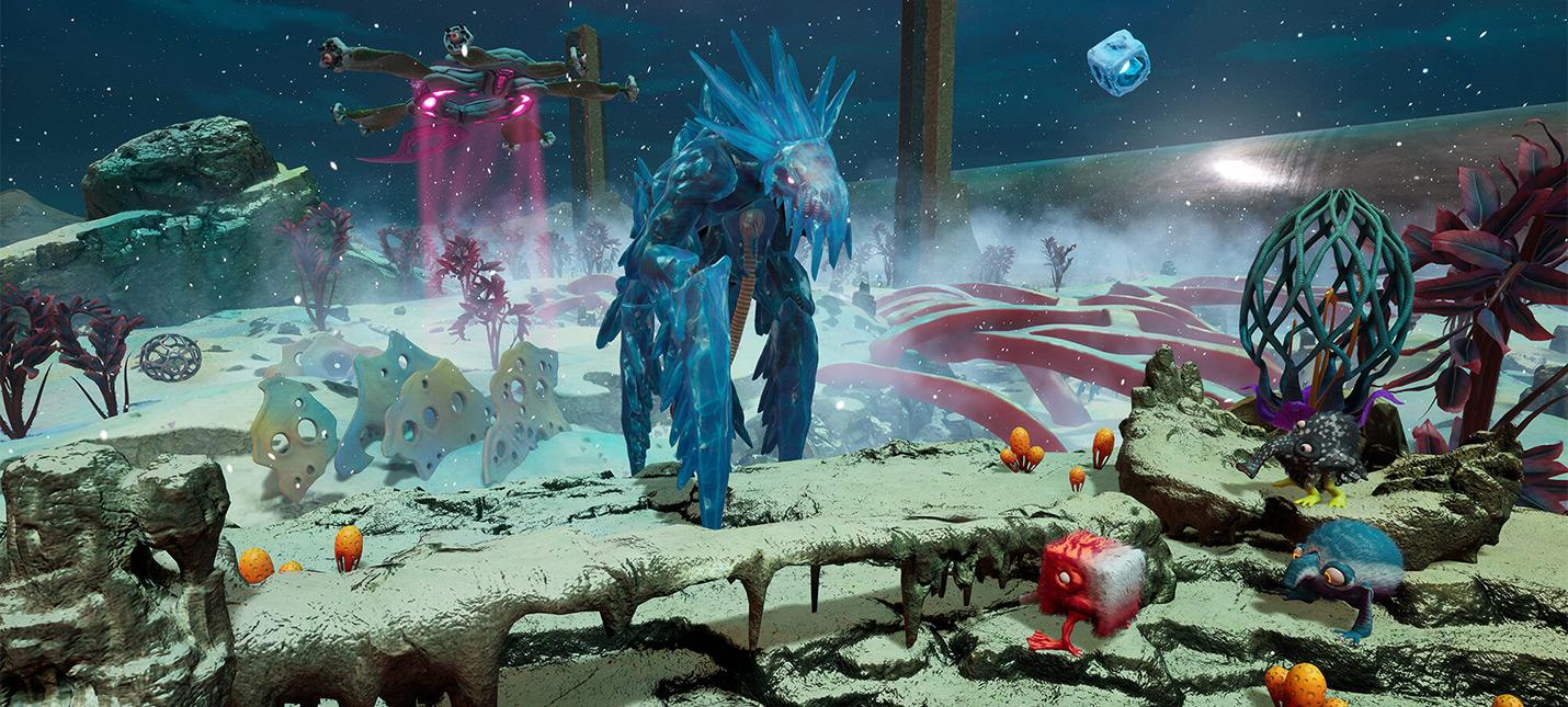 10 минут геймплея из беты The Eternal Cylinder  смесь Spore и сурвайвала