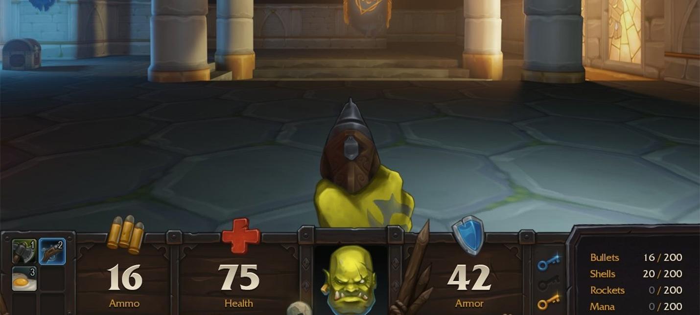 Фанат World of Warcraft и DOOM сделал крутую смесь двух вселенных  DoomCraft