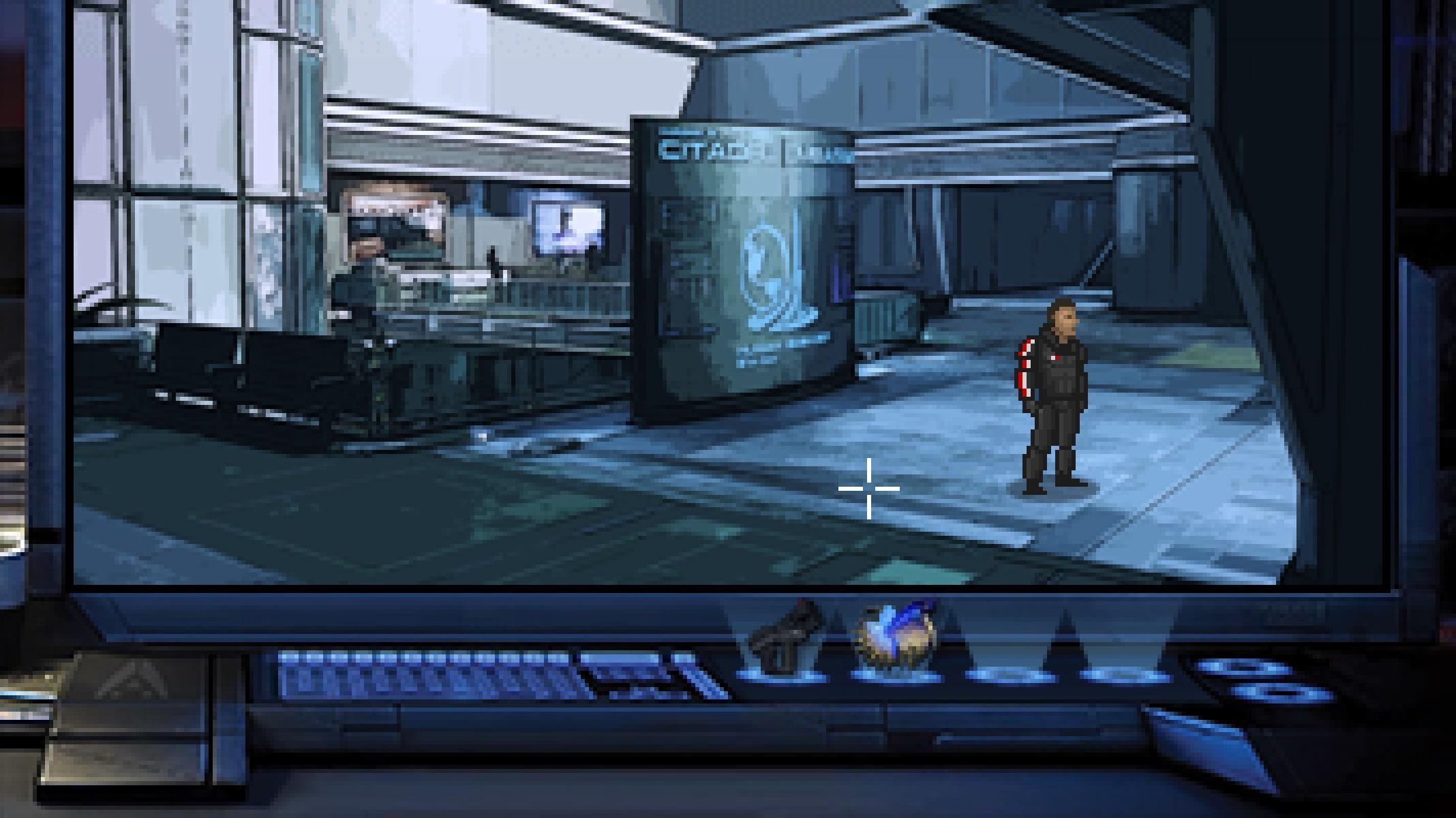 Энтузиасты представили Mass Effect в виде классического квеста LucasArts