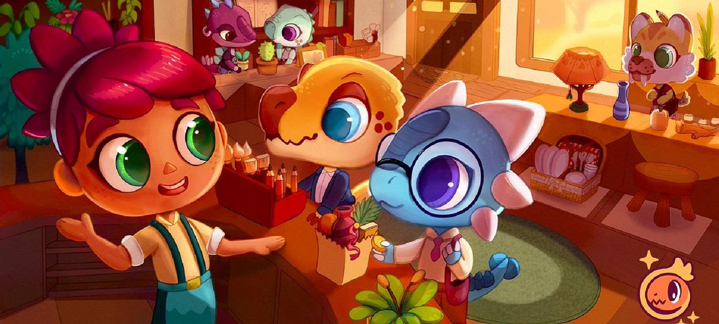 Опубликован первый геймплей Amber Isle  инди-клона Animal Crossing New Horizons