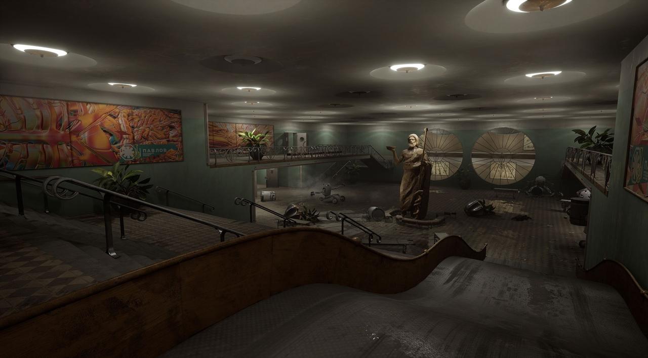 Утечка: Главный герой, локации и оружие на скриншотах Atomic Heart