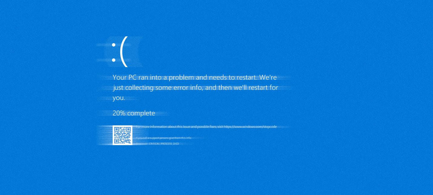После мартовского обновления Windows 10 у некоторых появляется Экран Смерти