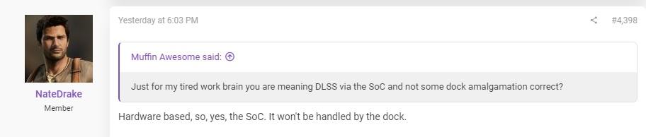 Инсайдер: Аналог DLSS на Switch Pro будет работать на чипе
