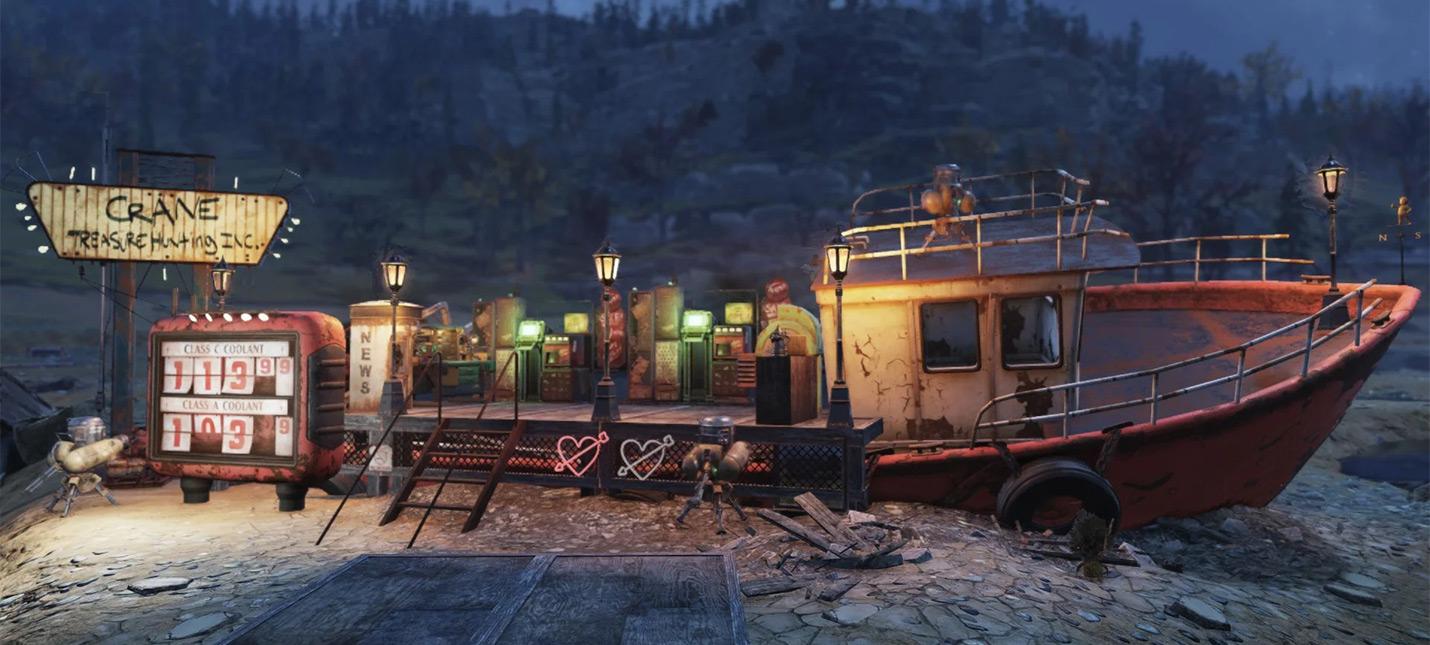 Игроки Fallout 76 уже планируют сеть постоялых дворов с запуском апрельского обновления