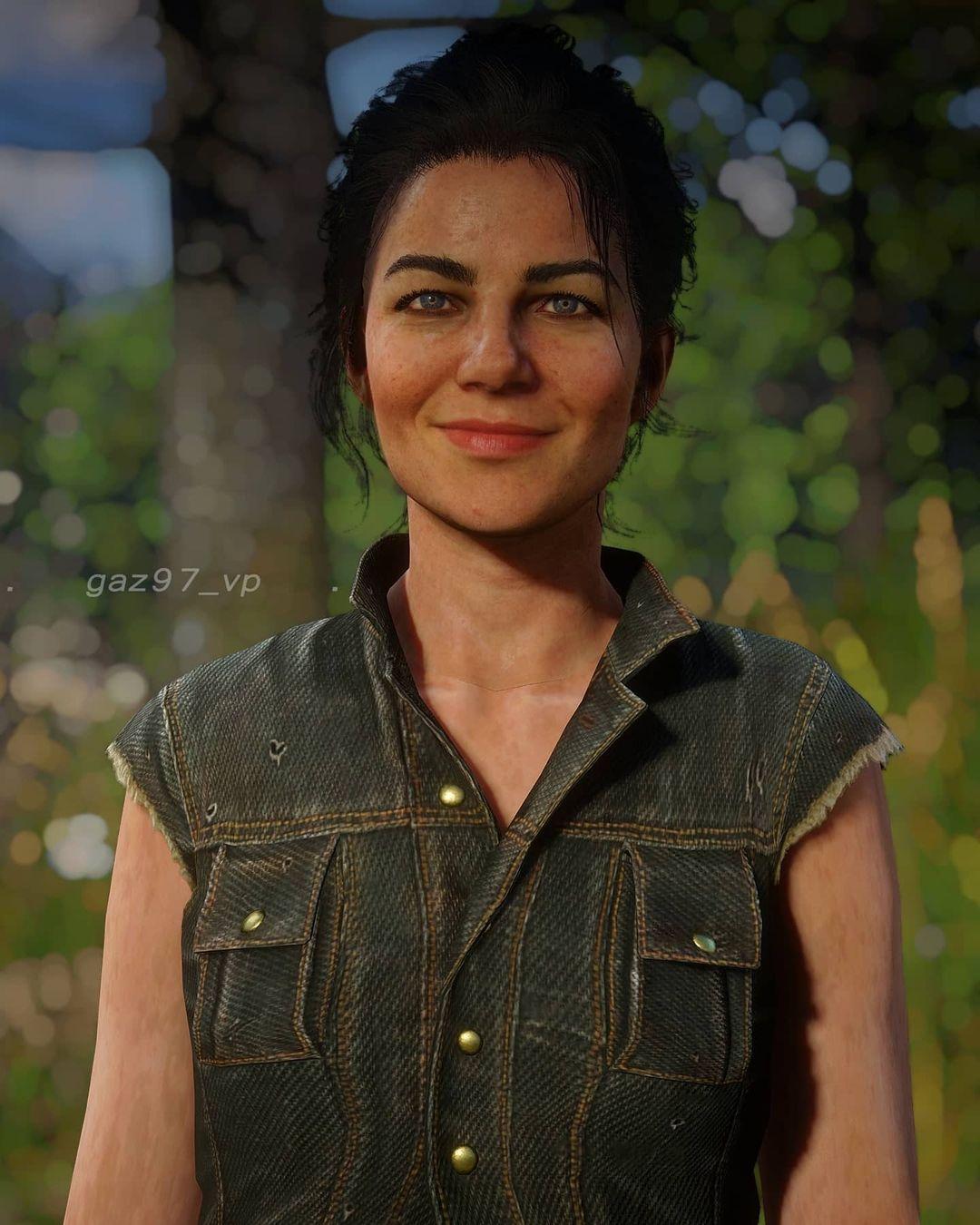 Игрок Red Dead Redemption 2 делает портреты персонажей с улыбками на лице