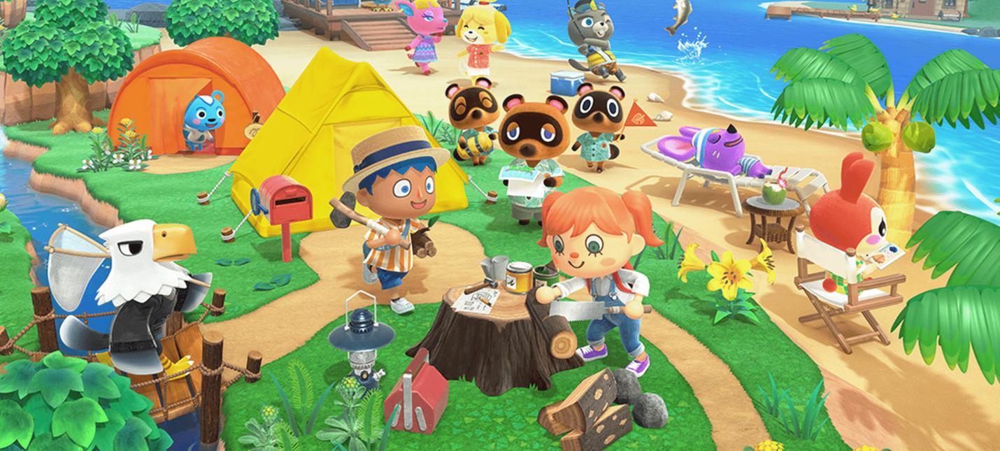 Animal Crossing New Horizons стала самой продаваемой игрой Nintendo из когда-либо выходивших в Европе