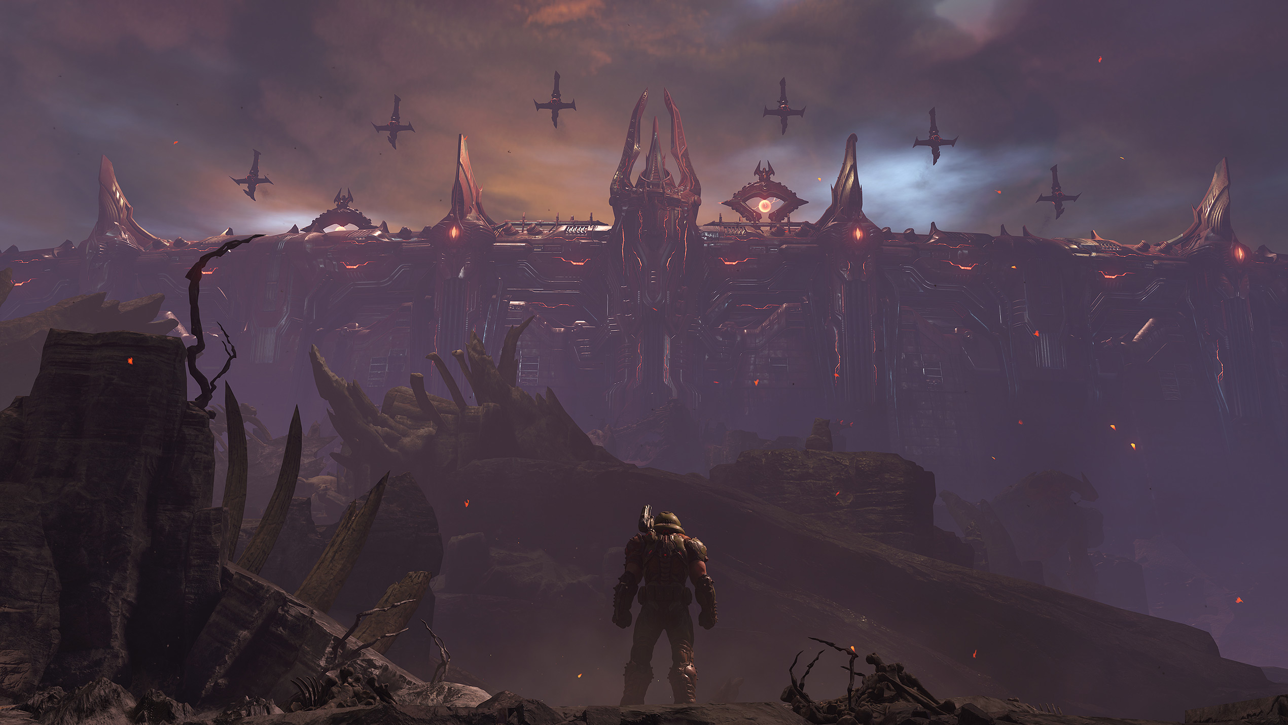 """Библия, инопланетный """"скот"""", измерения и Палач: Разговор c id перед Doom Eternal - The Ancient Gods Part Two"""