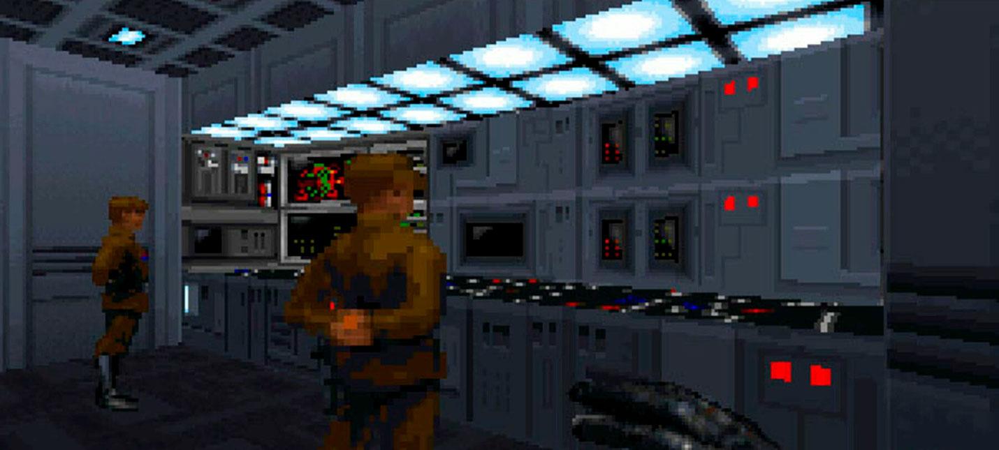 Новый геймплей фанатского ремейка Star Wars Dark Forces