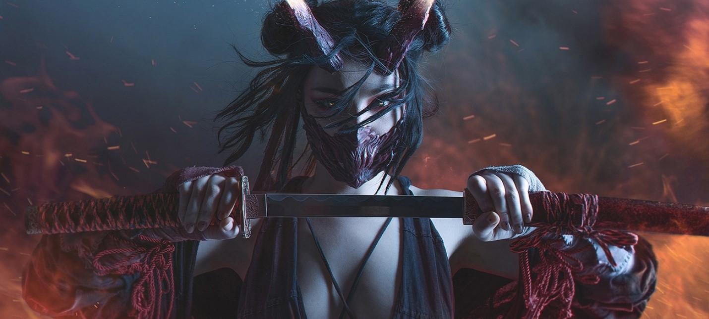 Пятничный косплей Cyberpunk 2077, демон-самурай и развязный эльф