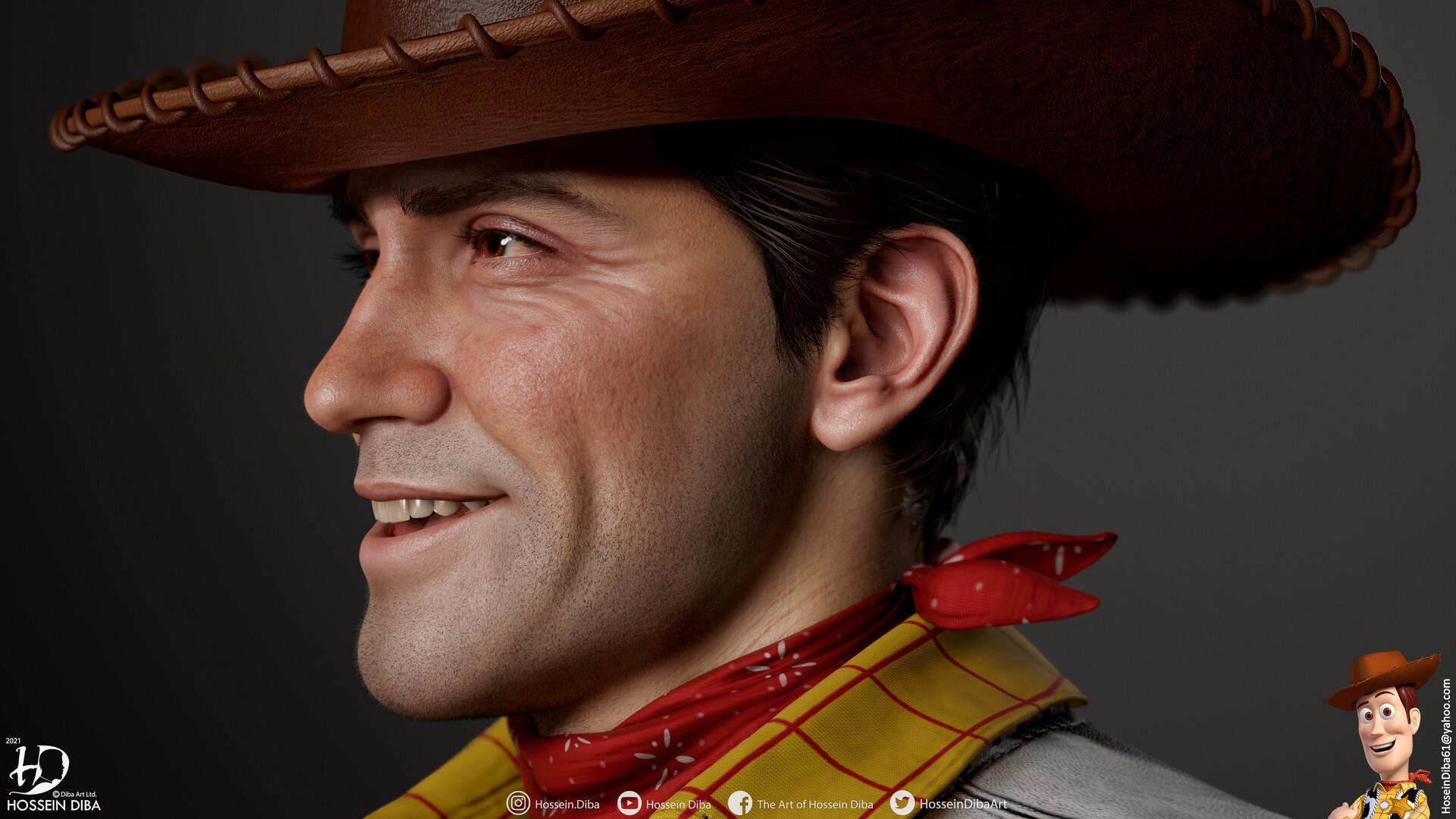 """3D-художник делал реалистичного Вуди из """"Истории игрушек"""", а получился Артур Морган из Red Dead Redemption 2"""