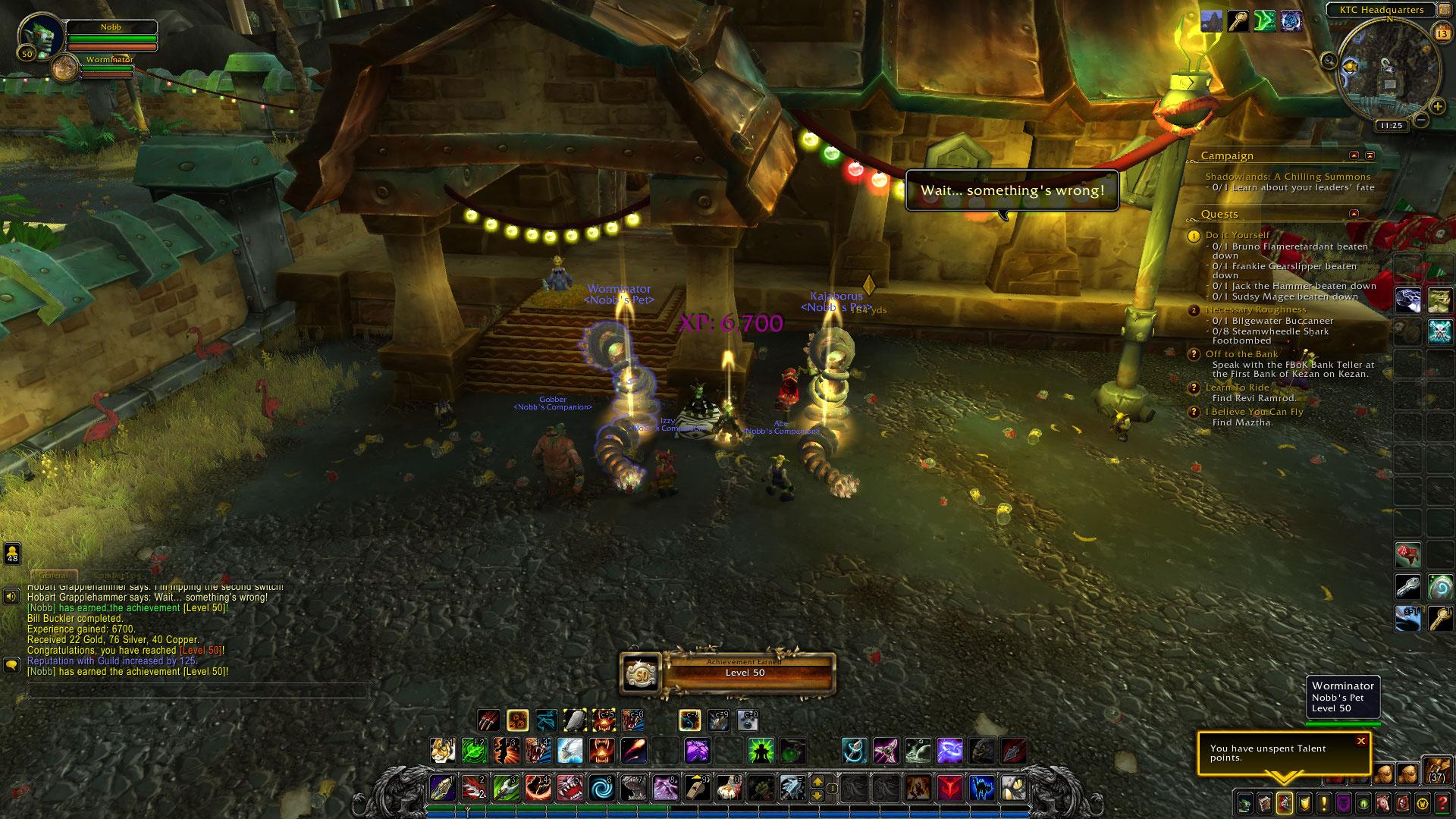 Игрок World Of Warcraft прокачался до 50-го уровня в стартовой зоне