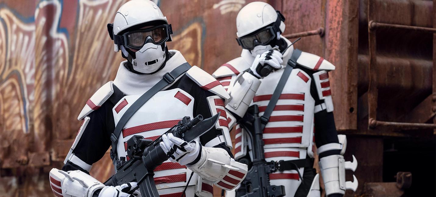Кто такие солдаты в белой броне из Ходячих мертвецов