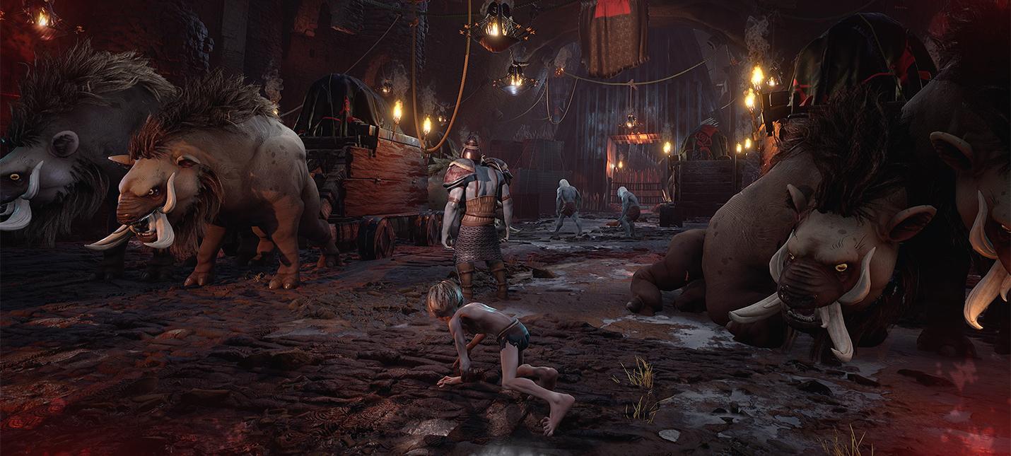 Первый взгляд на геймплей The Lord Of The Rings  Gollum